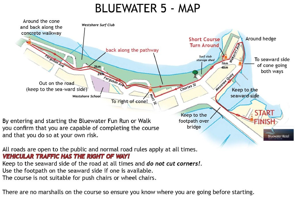 Bluewater Map